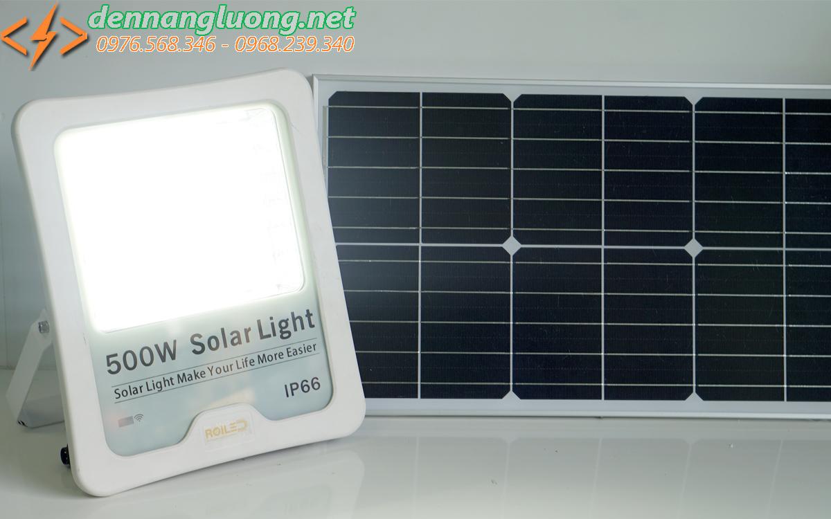 Đèn pha Roiled RL 500W| công suất lớn| năng lượng mặt trời