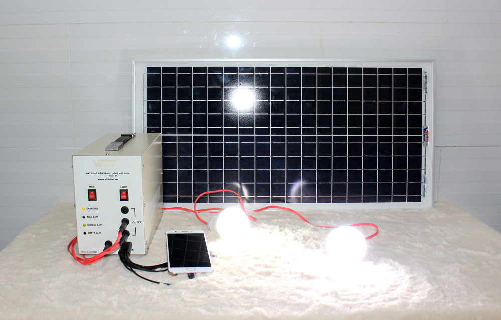 Máy phát điện năng lượng mặt trời mini