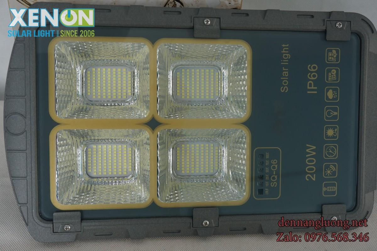 Đèn Đường Rời Thể Xenon XD200W Năng Lượng Mặt Trời