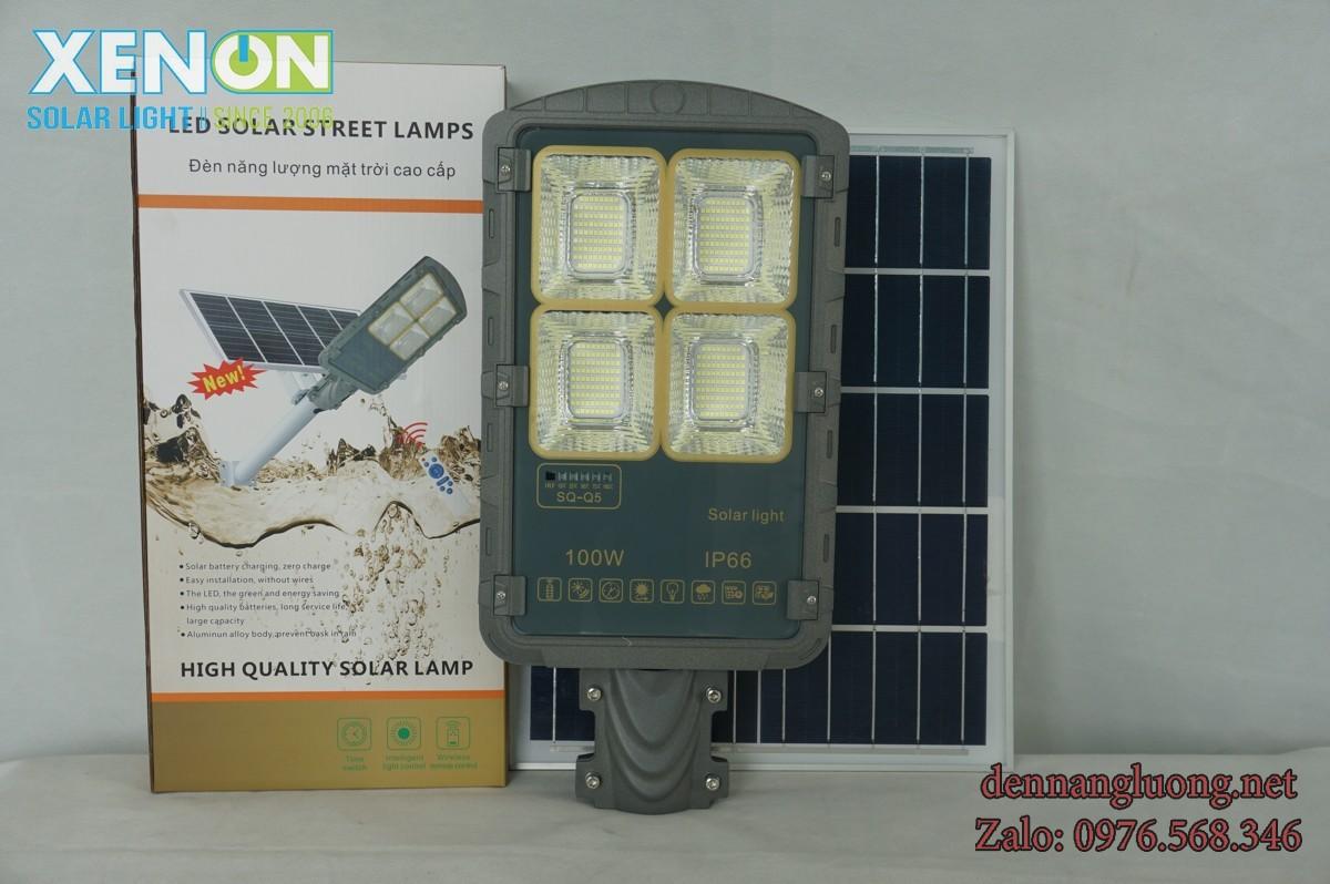 Đèn Đường Rời Thể Xenon XD100W Năng Lượng Mặt Trời