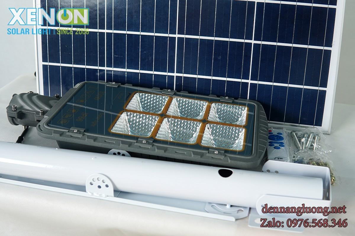 Đèn Đường Rời Thể Xenon XD300W Năng Lượng Mặt Trời