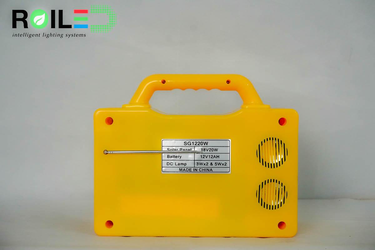 Máy phát điện Xenon X1220W Năng Lượng Mặt Trời