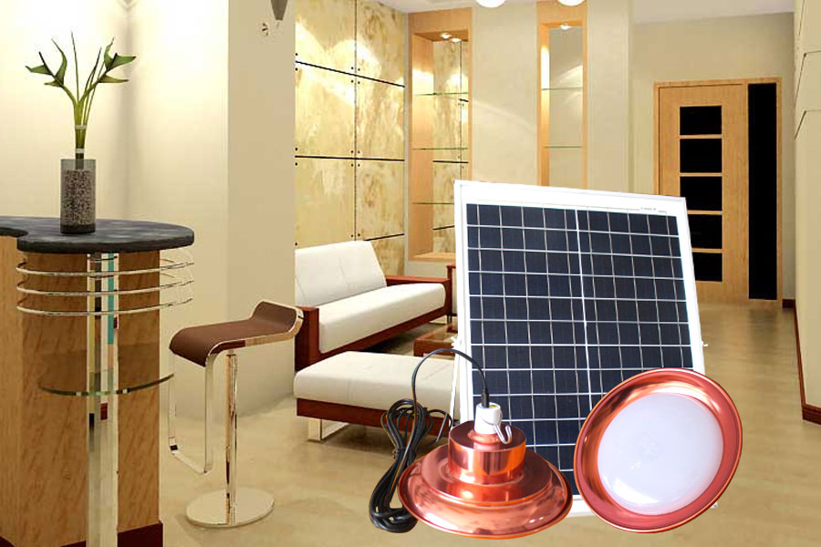 Đèn đĩa bay sử dụng trong nhà 200w-năng lượng mặt trời