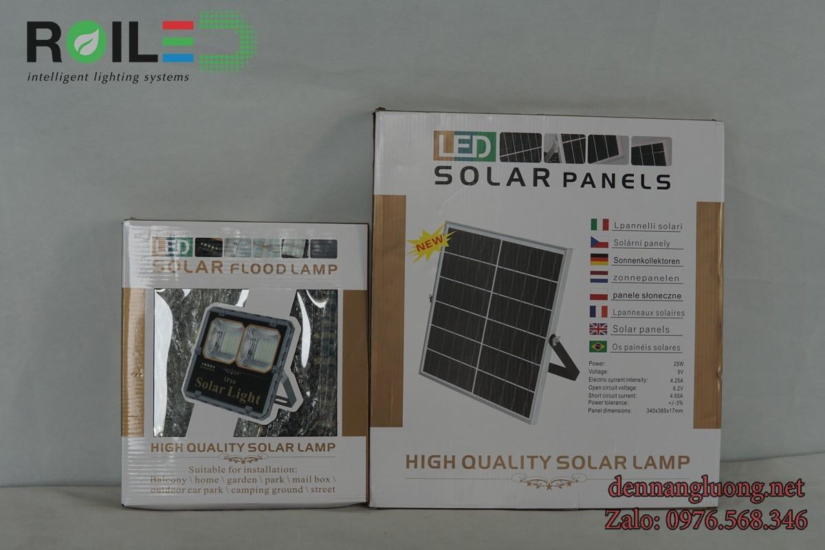 Đèn pha năng lượng Roiled PC100W siêu rẻ