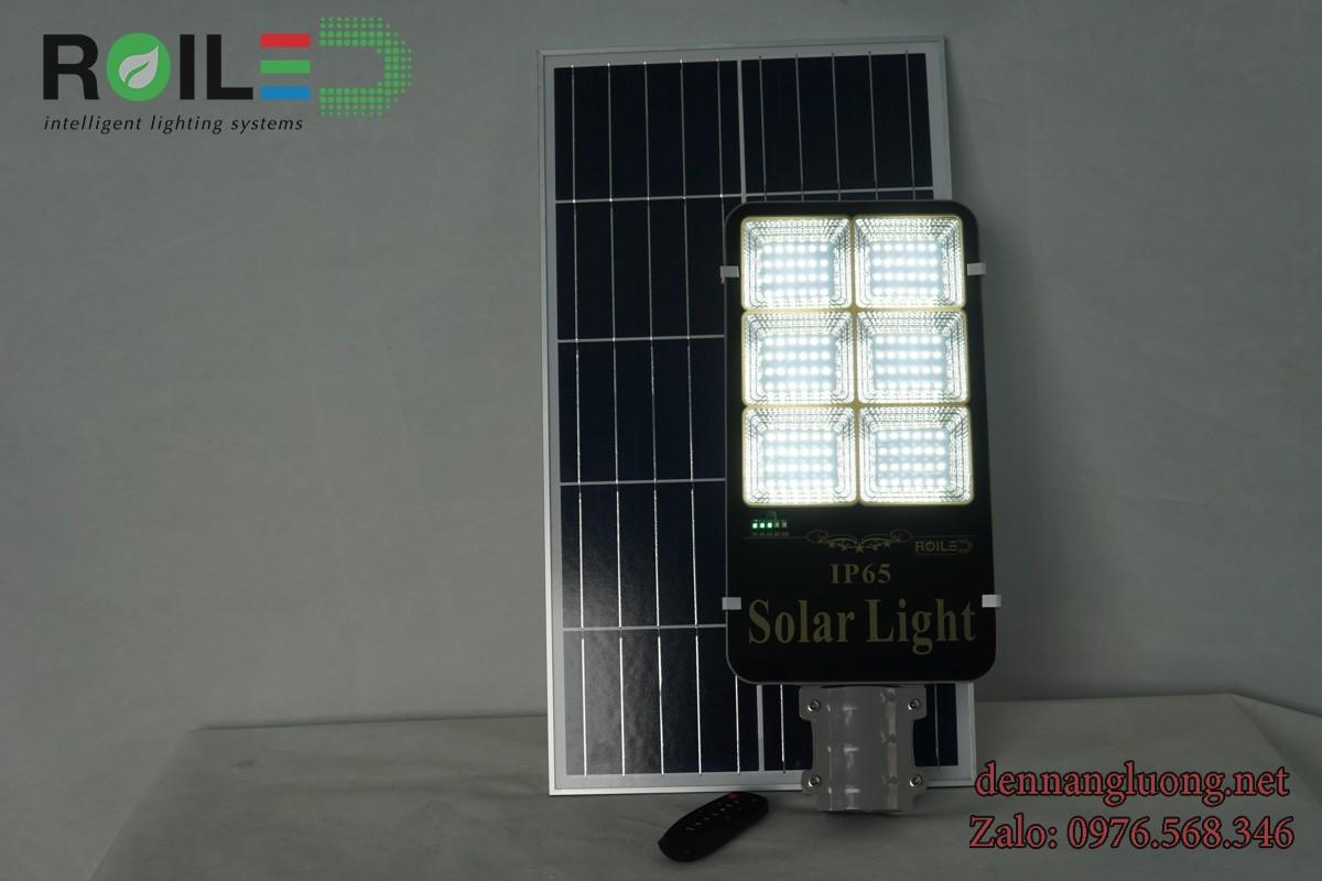 Đèn đường năng lượng mặt trời 100W Roiled - RA100W