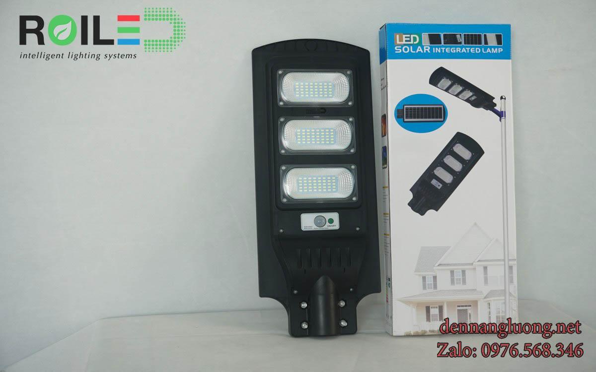 Đèn đường năng lượng mặt trời tấm pin liền thể 90W Roiled - RL90W