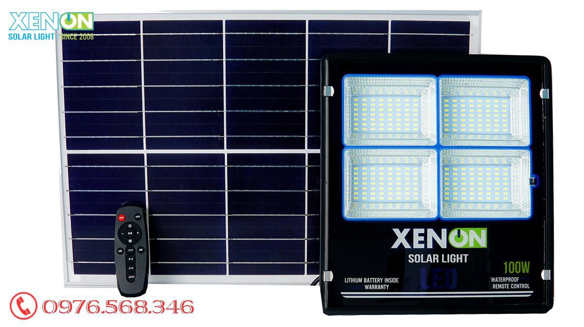 Đèn pha Xenon XN 100W| cao cấp| năng lượng mặt trời