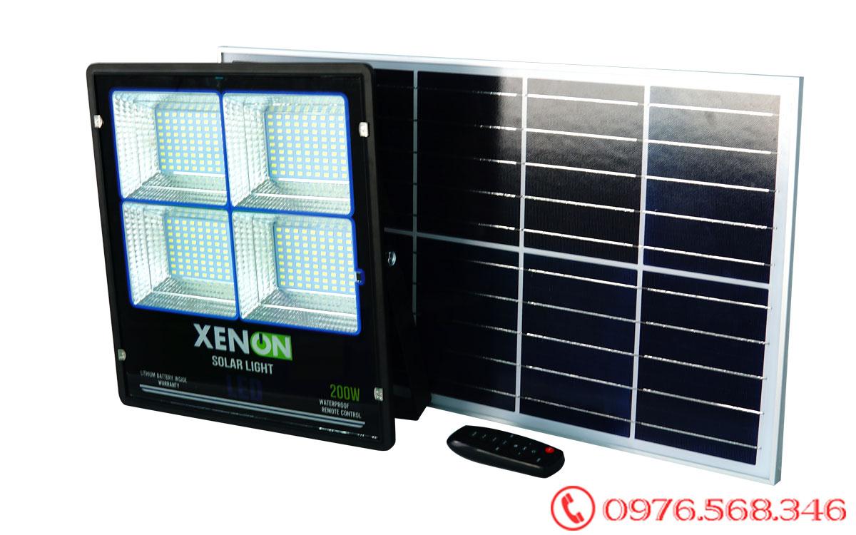 Đèn pha Xenon X200W| cao cấp| năng lượng mặt trời