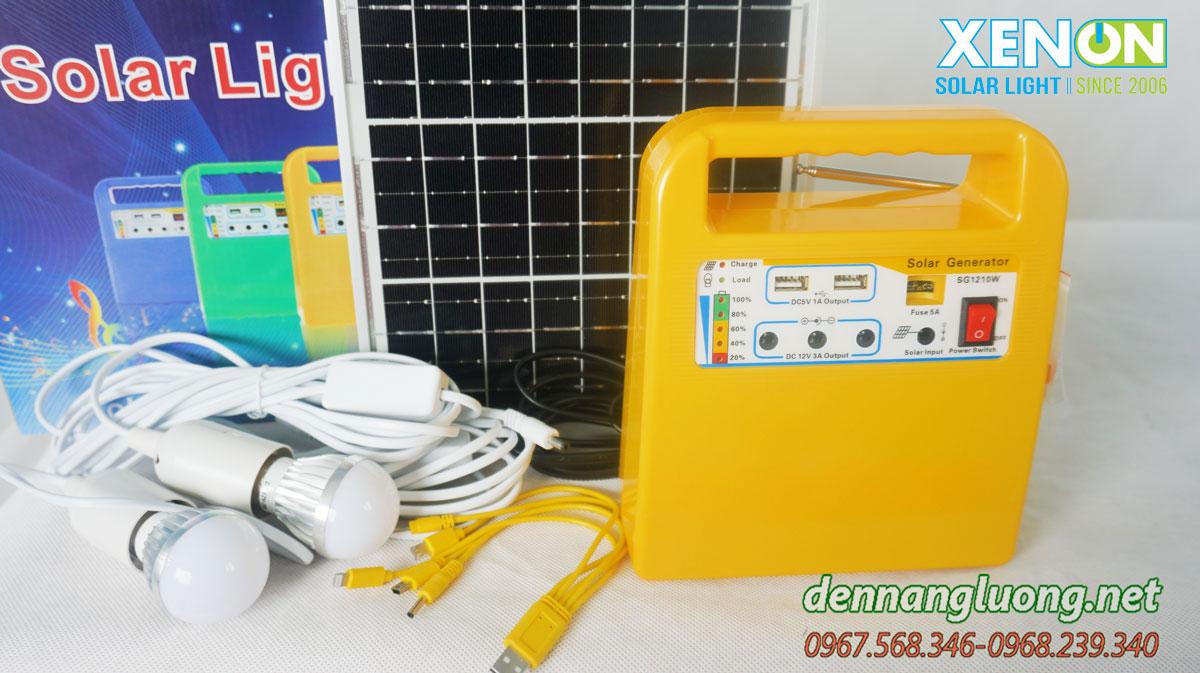 Máy phát điện Xenon X1210W Năng Lượng Mặt Trời
