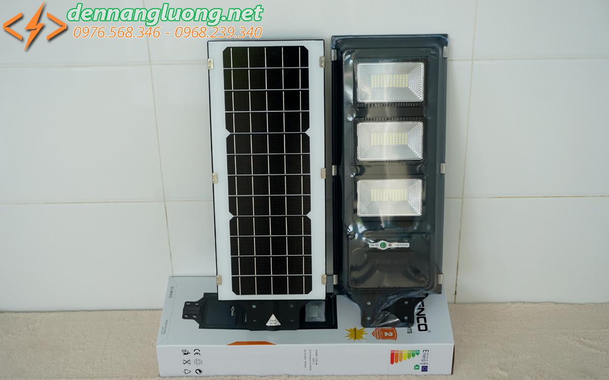 Đèn đường ES 120W | Solar Light | năng lượng mặt trời liền thể