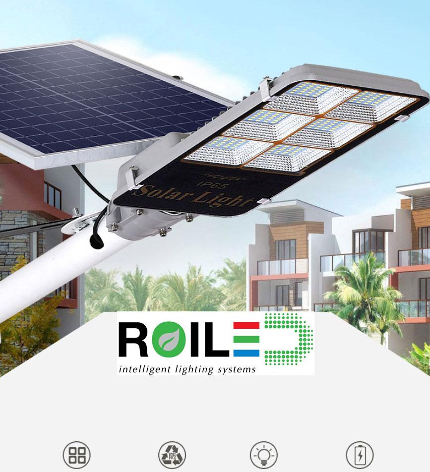 Đèn đường năng lượng mặt trời Roiled 60W RL 0008
