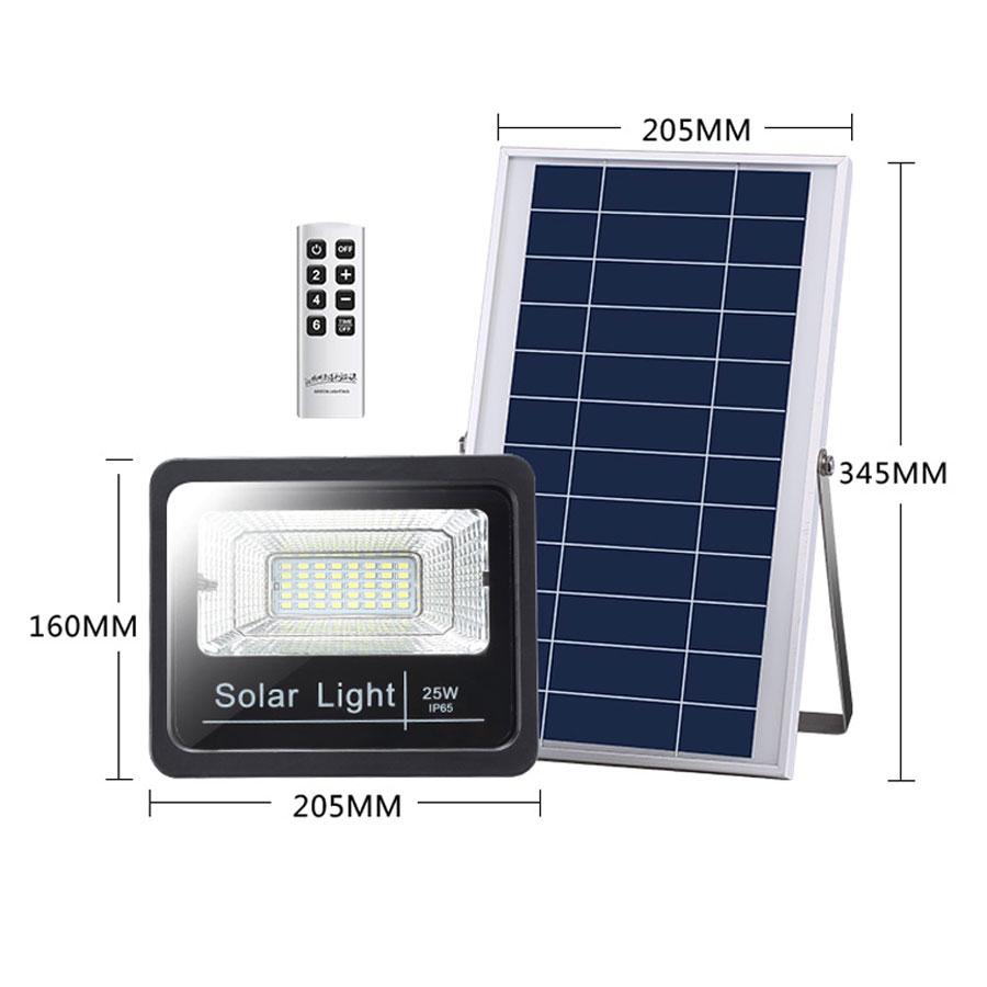 Đèn pha năng lượng mặt trời VK- 387A 25W