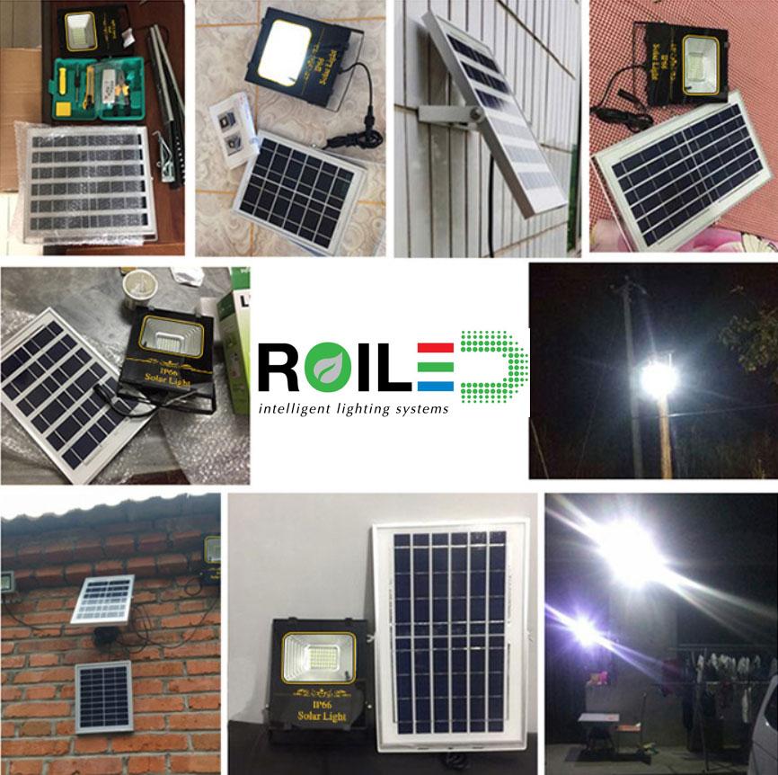 Đèn pha năng lượng mặt trời Roiled RL 0013 40W