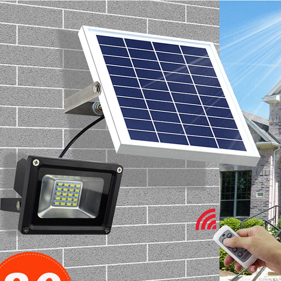 Đèn pha năng lượng mặt trời VK- 381B 30W