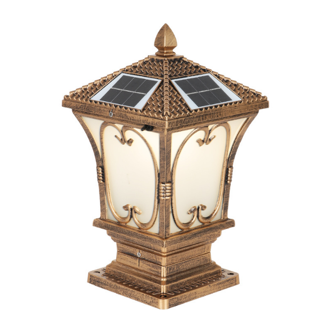 Đèn trụ cổng năng lượng mặt trời LT3029