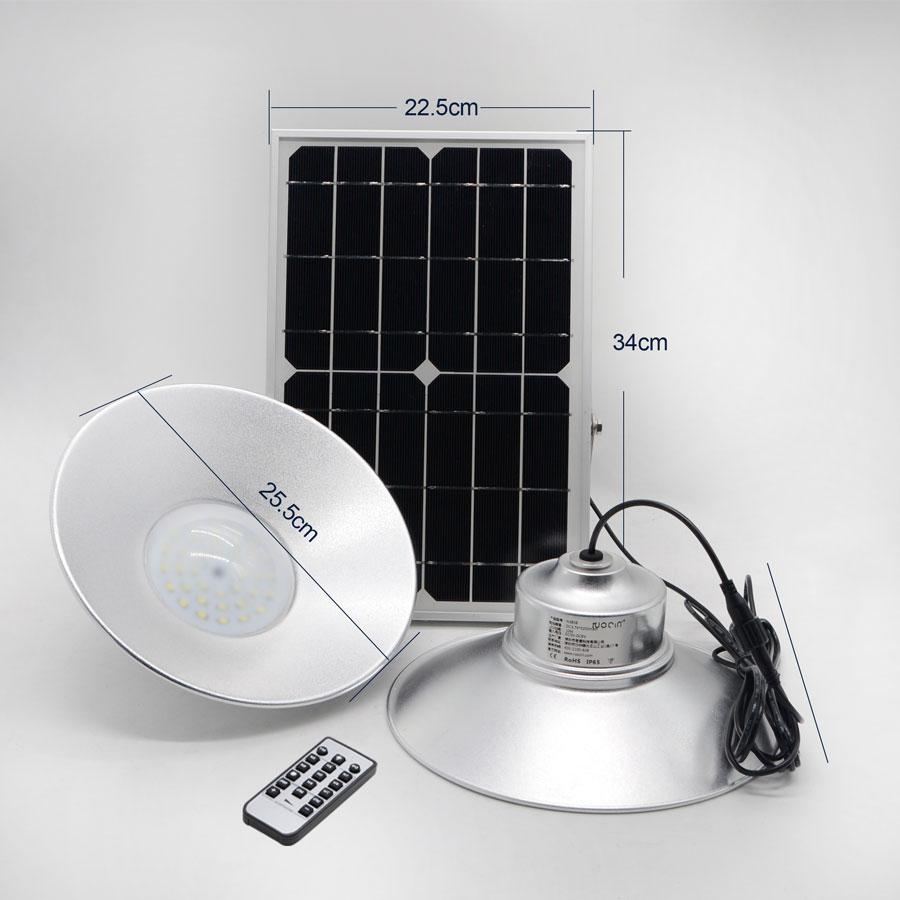 Đèn led năng lượng mặt trời VK- N380B 36W