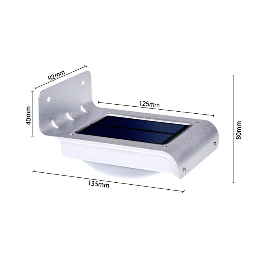 Đèn vách năng lượng mặt trời VK-10P1 4W