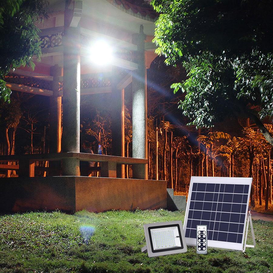Đèn led năng lượng mặt trời VK- 386D 60W