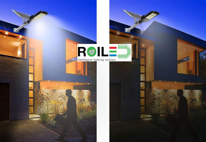 Đèn đường năng lượng mặt trời Roiled 60W RL 0010