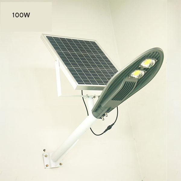 Đèn đường năng lượng mặt trời DCĐL 100W