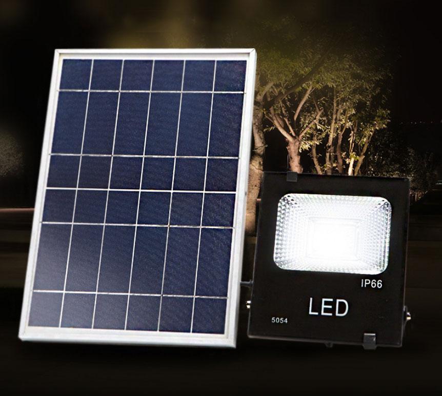 Đèn pha năng lượng mặt trời DC 50W