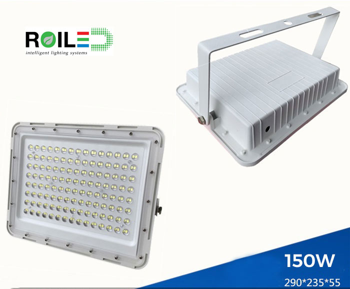 Đèn pha năng lượng mặt trời cao cấp Roilled RL0007 150W