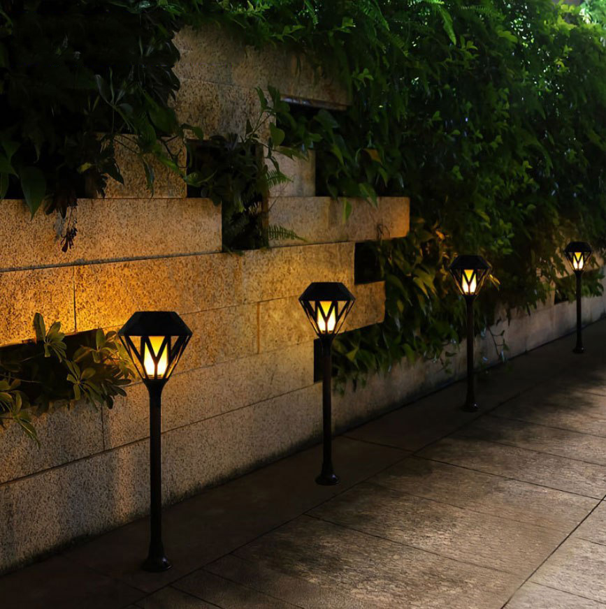Đèn cắm cỏ năng lượng mặt trời DC - KC
